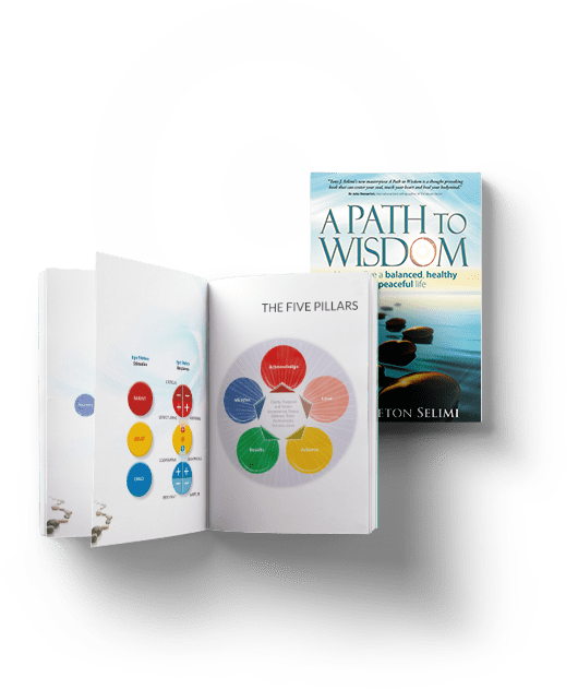 a path to wisdom written by tony j selimi designing your life book Tony J Selimi